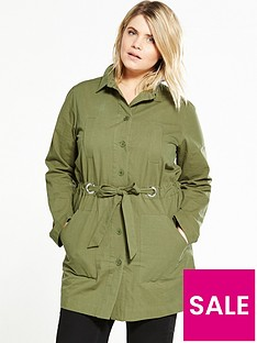 lost-ink-curve-curve-casual-parka-khaki