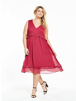 lost-ink-plus-lost-ink-curve-pretty-fit-and-flare-dress-with-ruffle