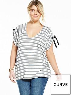 lost-ink-curve-lost-ink-curve-tie-sleeve-stripe-top