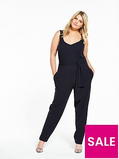 lost-ink-curve-jumpsuit-with-woven-top