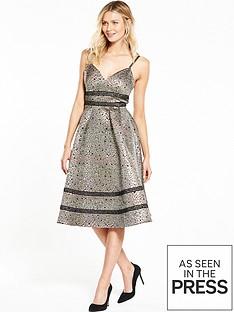 v-by-very-ladder-detail-jacquard-dress