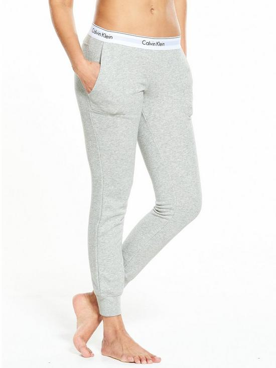 d37b4c9a40fa7 Calvin Klein Modern Cotton Lounge Jogger | very.co.uk