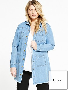 lost-ink-curve-curve-longline-denim-coat