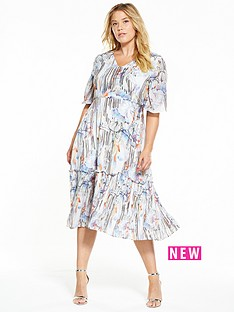 lost-ink-curve-lost-ink-curve-pleated-hem-dress-in-zen-floral-print