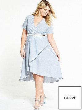 lost-ink-curve-curve-stripe-dress-with-hi-lo-hem-blue