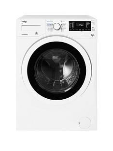 Beko WDJ7523023W Freestanding 1200 Spin,7kgWash,5kgDry Washer Dryer - White