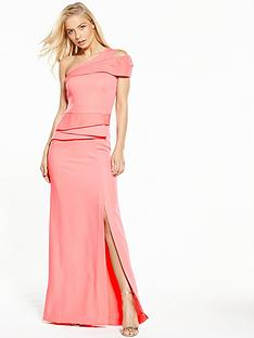 v-by-very-one-shoulder-bardot-peplum-maxi-dress