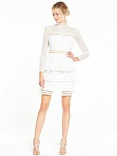 v-by-very-long-sleeve-ruffle-lace-dress