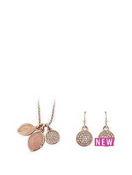 buckley-london-buckley-rose-gold-plate-rose-quartz-pendant-and-earring-set
