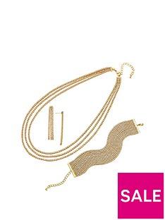 buckley-london-buckley-gold-plate-cubic-zirconia-cascade-earring-necklace-and-bracelet-set