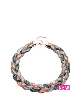 buckley-london-buckley-rhodium-rose-gold-plate-plaited-necklace