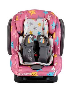 Cosatto Hug Group 123 Isofix Car Seat -Happy Stars