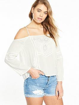 superdry-superdry-cold-shoulder-ls-embroidered-top