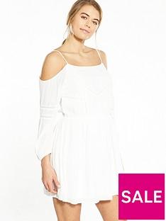 superdry-cold-shoulder-ls-dress