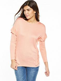 v-by-very-ruffle-long-sleeve-top