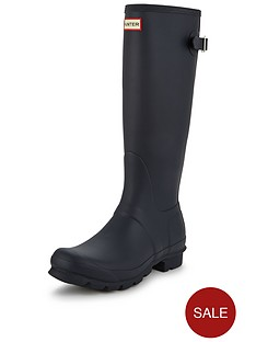 hunter-original-back-tall-adjustable-wellynbsp--navy