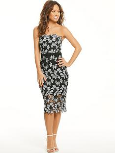 myleene-klass-mono-lace-bodycon-dress