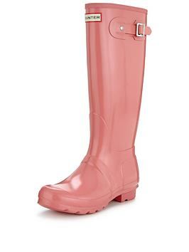 hunter-original-tall-gloss-wellynbsp--pink
