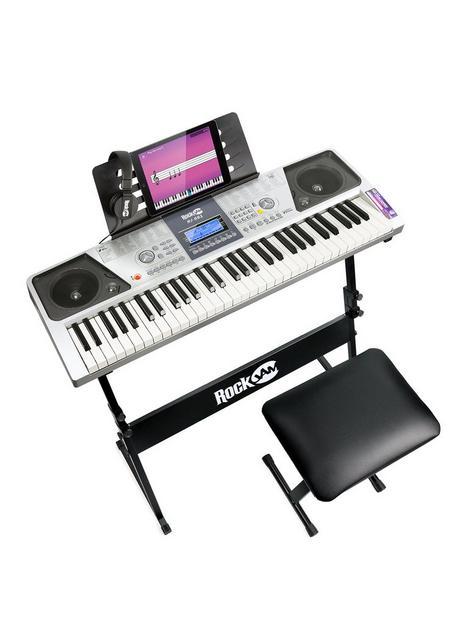 rockjam-rj661-sk-rockjam-61-key-keyboard-piano-kit-with-keyboard-stand-piano-stool-and-headphones