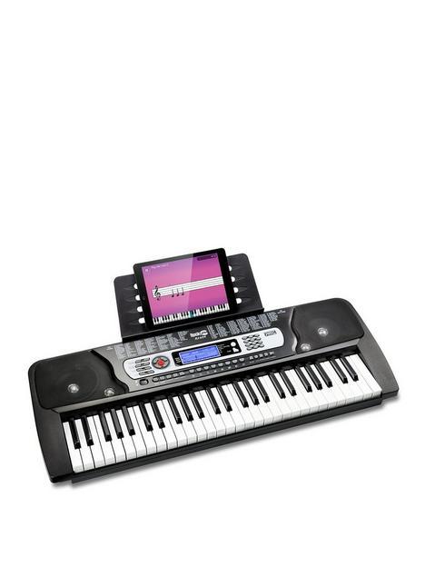 rockjam-rj654-rockjam-54-key-portable-keyboard-piano-with-sheet-music-stand-amp-keynote-stickers