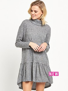 river-island-long-sleeve-smock-dress-grey