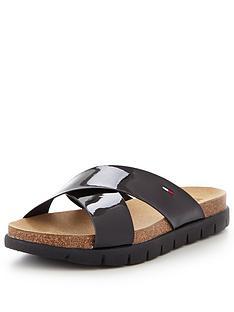 tommy-hilfiger-cross-slide-flat-sandal
