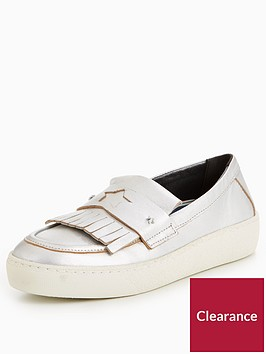 tommy-hilfiger-suzie-thick-sole-loafers-silver