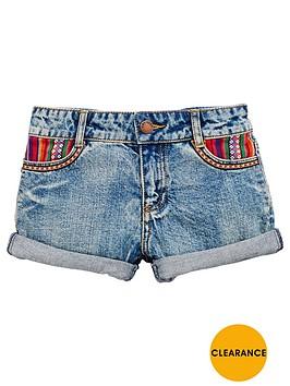 v-by-very-tex-mex-print-pocket-shorts