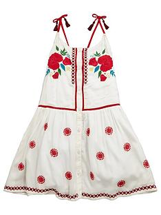 v-by-very-embroidered-tassle-tie-dress