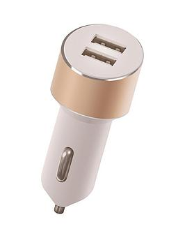kit-platinumnbspdual-car-charger-34a-with-two-usbnbspcharging-ports