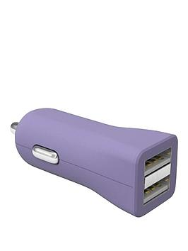 kit-fresh-dual-car-charger34a-for-iphoneipad-airretinatabletsmartphone-with-two-usb-charging-port