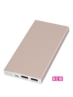 kit-platinum-portable-charging-power-bank-10000-mah-for-iphoneipad-amp-all-usb-compatible-devices-rose-gold