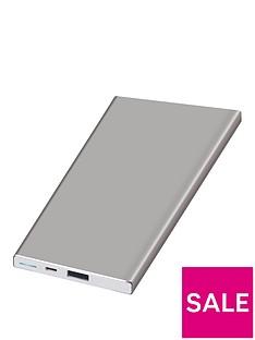 kit-platinumnbspportable-charging-power-bar-5000-mah-for-iphoneipadnbsp--silver