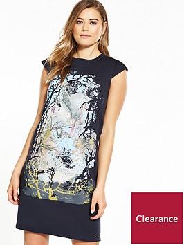 boss-dembroidery-dress-dark-blue