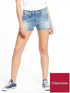 hilfiger-denim-denim-shorts