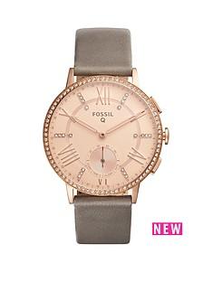 fossil-fossil-q-gazer-white-dial-stainless-steel-bracelet-ladies-hybrid-smart-watch