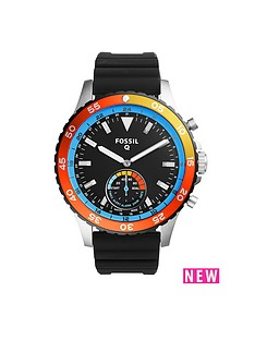 fossil-fossil-q-crewmaster-black-dial-stainless-steel-bracelet-mens-hybrid-smart-watch