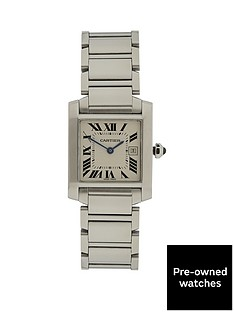 cartier-cartier-preowned-tank-francaise-off-white-dial-black-roman-numerals-reference-w51003q3-midsize-watc