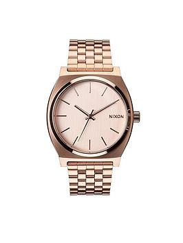 nixon-nixon-time-teller-rose-tone-dial-rose-tone-bracelet-watch