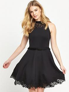 ted-baker-embroidered-skater-dress