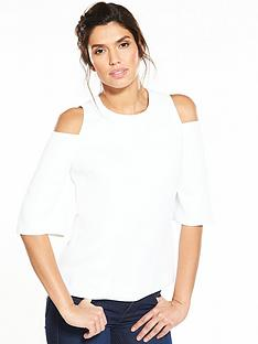 ted-baker-careo-cold-shoulder-top-ecru