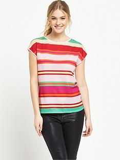 ted-baker-stripe-fitted-tee