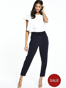 ted-baker-two-layer-jogger-jumpsuit-navy
