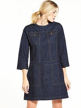 warehouse-pocket-denim-shift-dress-mid-wash