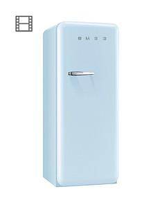 smeg-fab28qaz1-60cm-50s-retro-stylenbspright-hand-hinged-fridge-with-icebox--nbsppastel-blue