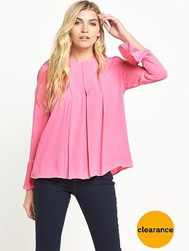 warehouse-box-pleat-top-pink