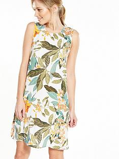 warehouse-tropical-garden-swing-dress