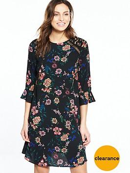 v-by-very-high-neck-lace-swing-dress