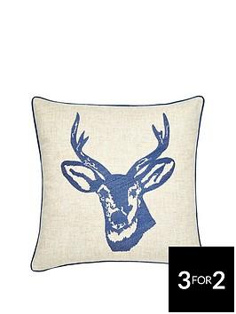 catherine-lansfield-stagrsquos-head-cushion