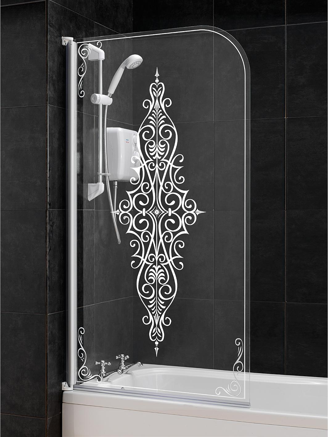 aqualux victorian shower screen very co uk